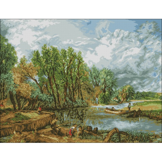 На реката