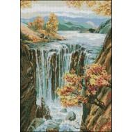 Големият есенен водопад