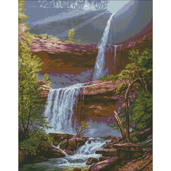 Водопадът