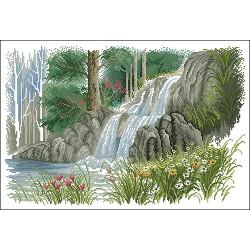 Водопад в гората