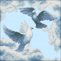 Летящи гълъби