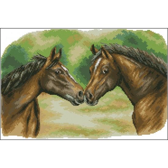 Двойка коне