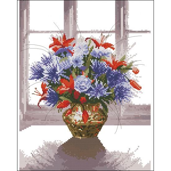 Месингова ваза