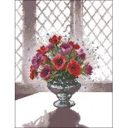 Сребърна ваза