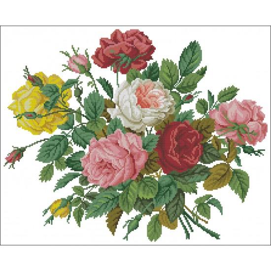Цветен букет от рози