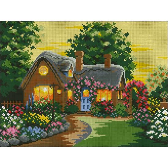 Къща в цветята