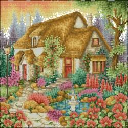 Лятна Къща с фонтан