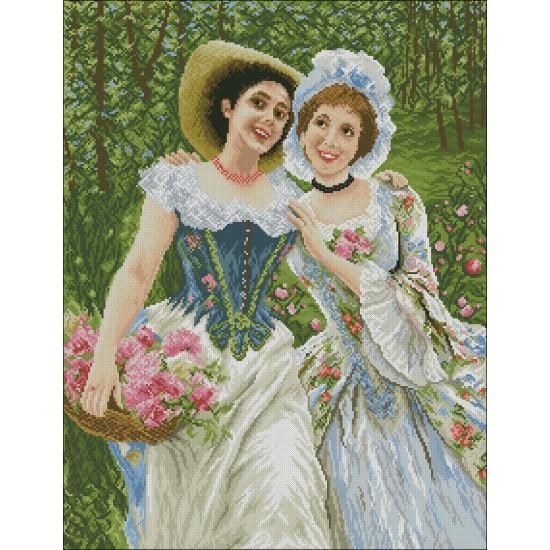 Момичета в градината
