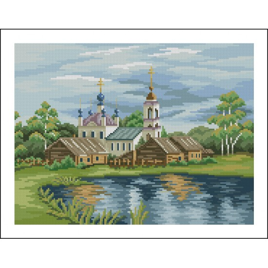 Църква до езерото